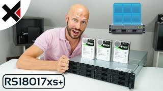 Synology VMM auf einer RS18017xs+ mit Exos X12 SAS HDDs | iDomiX