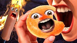 Annoying Orange - Food Horror Supercut!!!