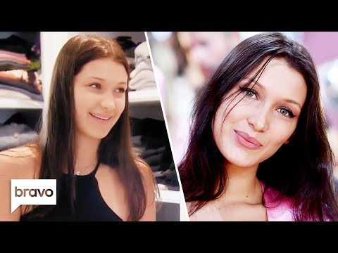 Bella Hadid Before She Was A Supermodel | Real Housewives Of Beverly Hills | Bravo