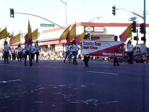 Santa Ana High School Marching Saints- Santa Ana Parade (2009)
