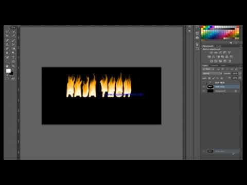 Download Photoshop Fire Text Tutorial Fire Text Video 3GP Mp4 FLV HD