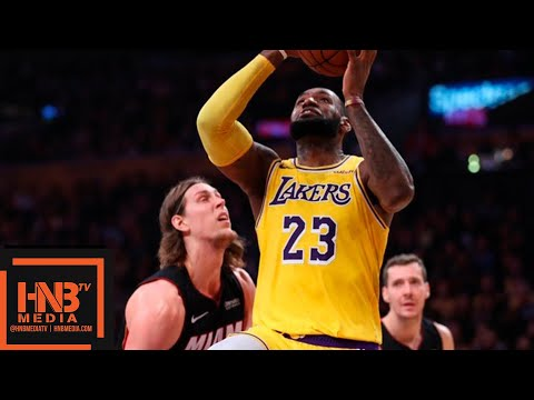Los Angeles Lakers vs Miami Heat 1st Half Highlights | 12.10.2018, NBA Season