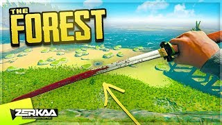 Getting The BEST Weapon In The Game *KATANA* (The Forest #10)