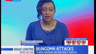 KTN reporter gives updates on Bungoma attack