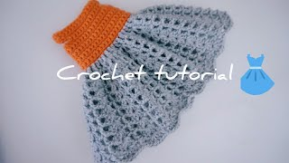 Tilda Doll Lace Dresses Crochet Tutorial