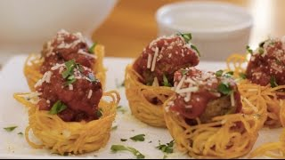 How to Make Spaghetti and Meatballs Muffin – Appetizer Recipes