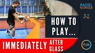 Svårigheten med att slå bollen nära sidoglaset