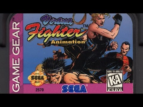 Classic Game Room - VIRTUA FIGHTER ANIMATION review for Sega Game Gear