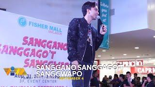 "Caleb Santos Performs Original Song ""I Need You More Today"" at Fisher Mall Malabon"