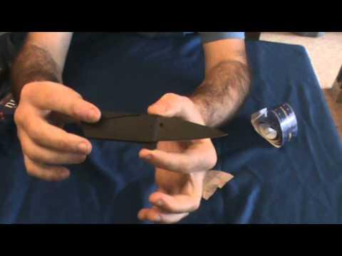 recensione coltello carta di credito Iain sinclair