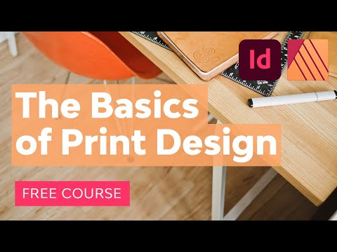 The Basics of Print Design | Free Course - YouTube
