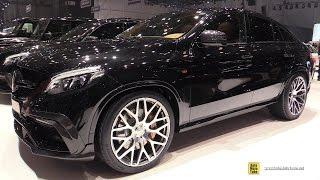 2016 Mercedes AMG GLE63 S Coupe Brabus 850 - Exterior Interior Walkaround - 2016 Geneva Motor Show