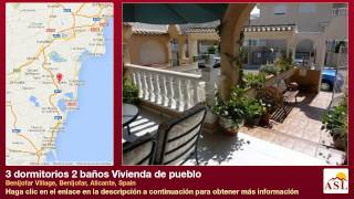 preview picture of video '3 dormitorios 2 baños Vivienda de pueblo se Vende en Benijofar Village, Benijofar, Alicante, Spain'