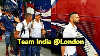 भारतीय क्रिकेट टीम पहुंची इंग्लैंड, देखिए टीम इंडिया का पूरा सफर | Virat | Dhoni | Rohit