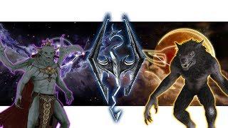 Skyrim: Vampire Lord VS Werewolf (Special Class Showcase)