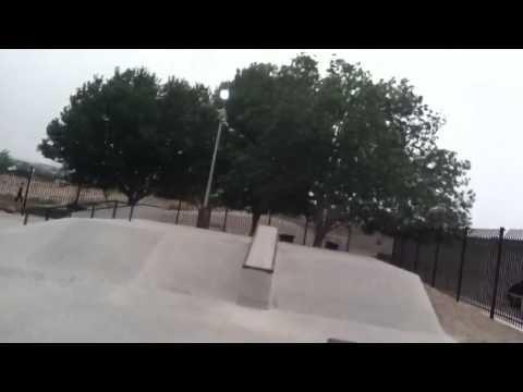 Overview at wickenburg skatepark
