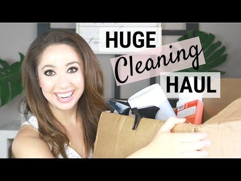 MASSIVE CLEANING PRODUCT HAUL: COLLAB WITH CANDIS!