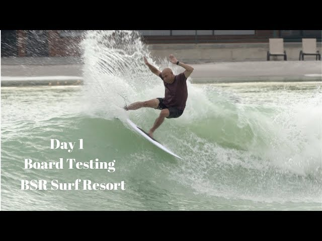 Day 1 Surfboard Testing at BSR Surf Resort Waco, TX by Noel Salas Ep.3