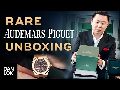Unboxing Audemars Piguet – AP Watch