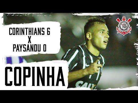 Corinthians 6x0 Paysandu (Copinha)