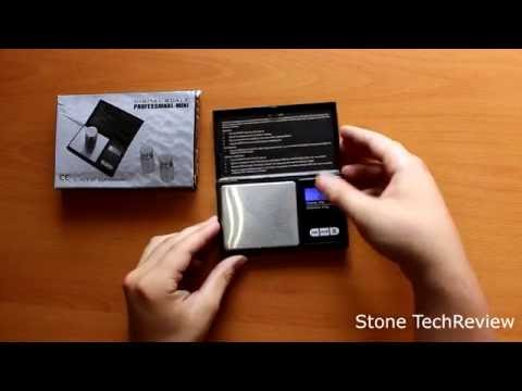 Unboxing OZAVO 200g/0,01g Miniwaage Taschenwaage Feinwaage Digitalwaage Goldwaage
