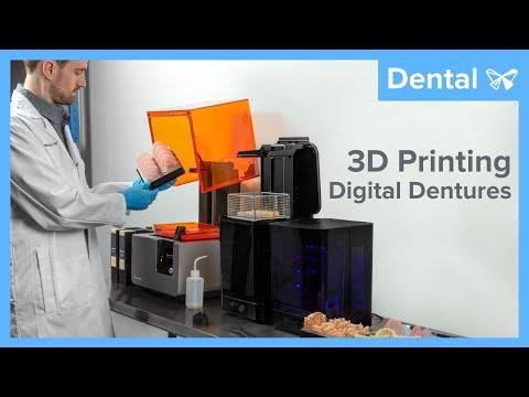 Formlabs 3D Printed Digital Dentures