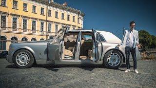 Rolls-Royce Phantom - недоступная роскошь.