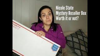 Nicole State Poshmark Mystery Reseller Box Review