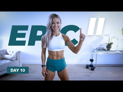 POWERFUL Full Body workout with Dumbbells