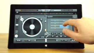 Mixer sur Surface Pro de Windows avec edjing