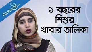 Bangla Health Tips-১ বছর পর্যন্ত শিশুর খাবার-Child Nutrition-Food Chart-BD Health Tips