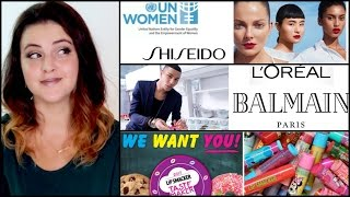 Shiseido Moves to Support Women, Balmain x L'Oreal, Unicorns, LIP SMACKERS, and much more!