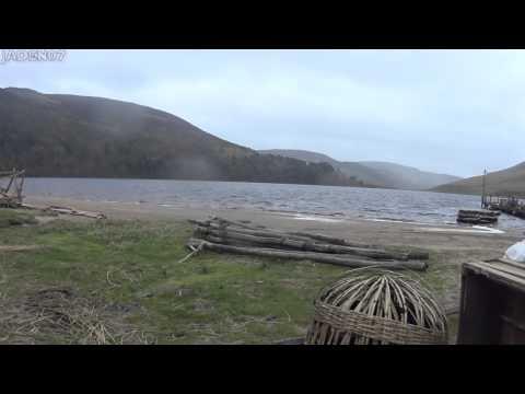 Vikings set : going through Kattegat