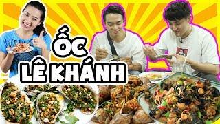 Phản ứng người Hàn lần đầu ăn món Ốc Việt Nam ???