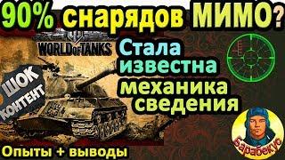 90% СТРЕЛЯЕШЬ МИМО? Нашёлся способ ВСЕГДА попадать в World of Tanks | Разброс ИС-3 ИС 3