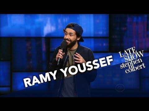 Ramy Youssef očekává bradavický dopis od ISIS - The Late Show with Stephen Colbert