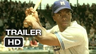 42 Official Trailer 2 2013  Harrison Ford Movie  Jackie Robinson Story HD