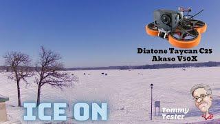 FPV Cinewhoop | Diatone Taycan C25 | Akaso V50X | Minnesota Ice Fishing