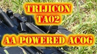 Trijicon TA02 AA Powered ACOG Tabletop