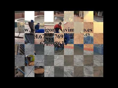 Ofertas Hormigon Impreso  Villaverde del Monte,Burgos Tel.672247692