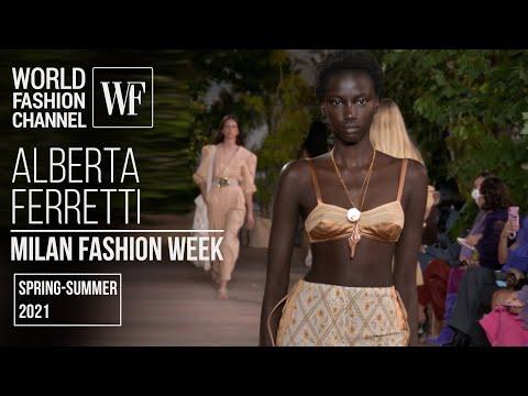 Alberta Ferretti spring-summer 2021   Milan fashion week
