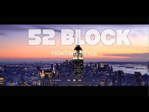 52 Blocks (Block) Fighting style - YouTube