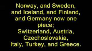 Yakko's Nations of The World Lyrics