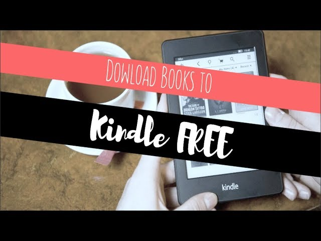Download eBooks FREE // How to Send Books to Kindle