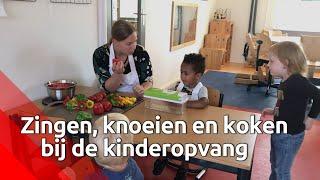 Eten én koken met kinderen bij kinderopvang Dinteloord