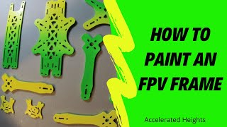 Drone painting, Step by step #fpv #howto