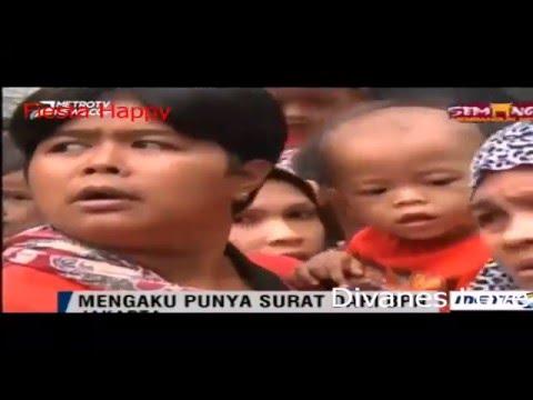 Warga Kalijodo Unjuk Rasa di DPRD DKI Jakarta
