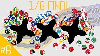 Play Off 1/8 #2 COUNTRYBALLS MARBLE RACE   Marblelympics Season 5