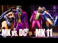 Mk Vs Dc Universe Vs Mk11: Comparing Fatalities amp Bru