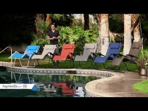 Video Caravan Canopy Oversized Zero Gravity Recliner - Product Review Video
